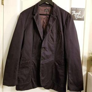 Paul Smith Big Stitch Detail Blazer Jacket